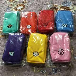 [READY STOCK] DUPLICATED/REPLICA/UNOFFICIAL BT21 Shoulder Pouch Bag