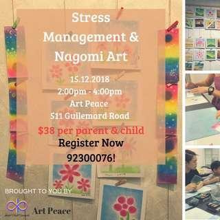 Stress Management & Nagomi Art Bonding