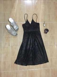 Glittery Brown Dress