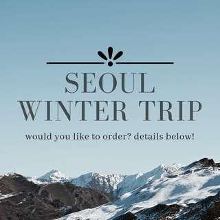 PERSONAL SHOPPER FOR ITEMS FROM SEOUL