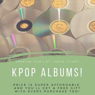 💸 UPDATED PRICE LIST OF KPOP ALBUMS 🎭