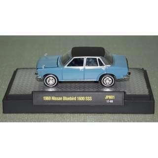 M2 Machines 1:64 Auto-Japan Series 1 1969 Datsun Bluebird 1600SSS Diecast Car