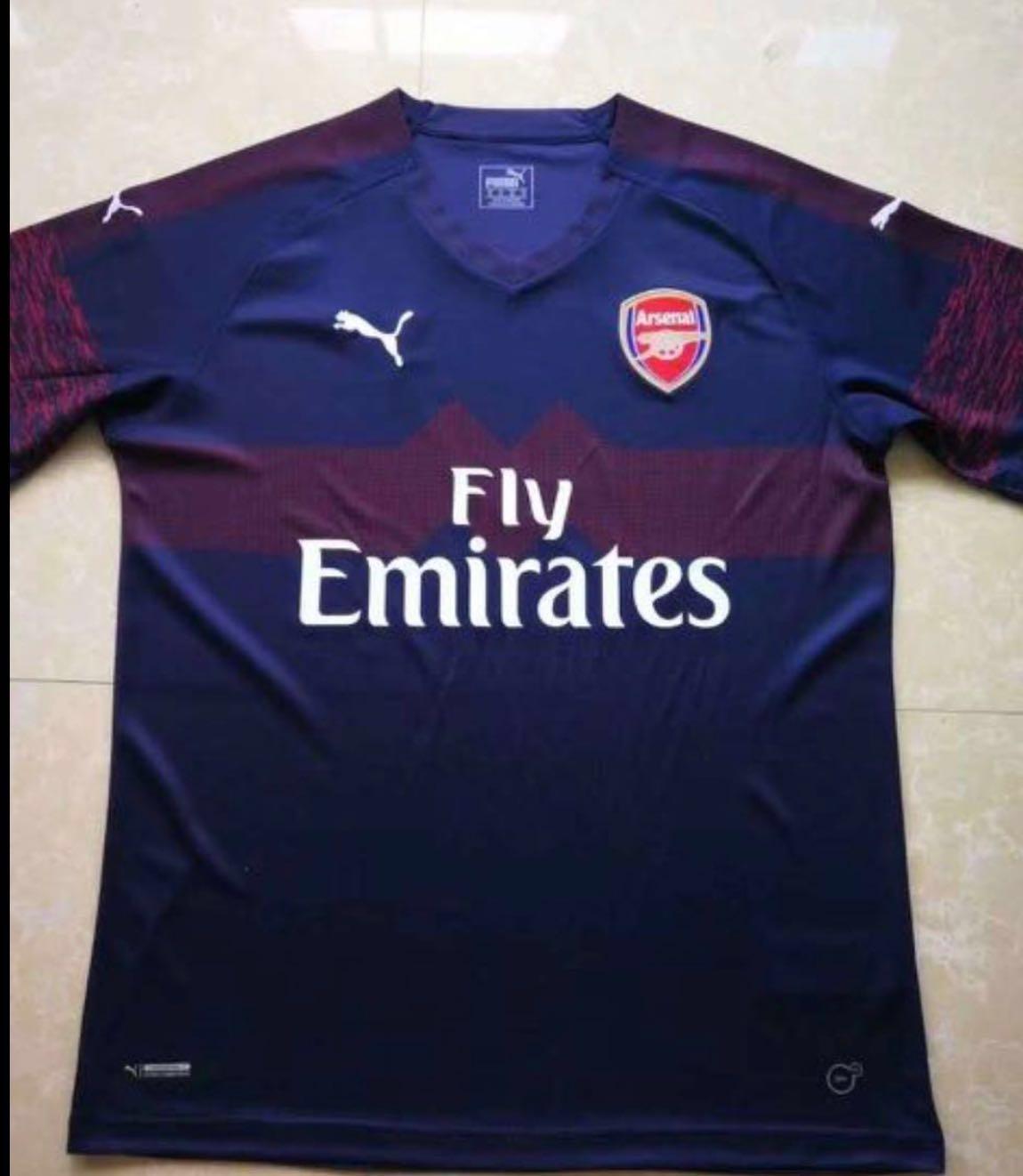 65995b67ed3 18 19 Arsenal away jersey Arsenal away kit 2018 2019 Arsenal jersey ...