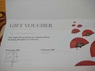 Mandarin Oroental Jakarta gift voucher