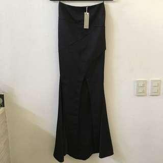 NEW!! Sheike Oasis Maxi Skirt Black