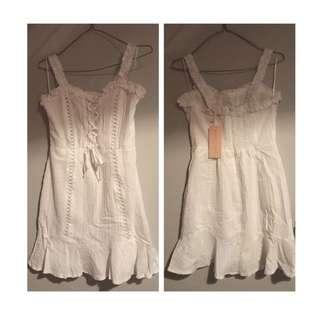 White Dress - Size 8