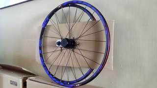 """Lightweight wheelset - RT RC3 FOREST PRO  (26"""" with 9mmQR, and loud hub 120 engagement)"""