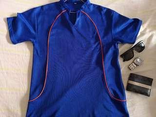 Blue Dri Fit Tshirt