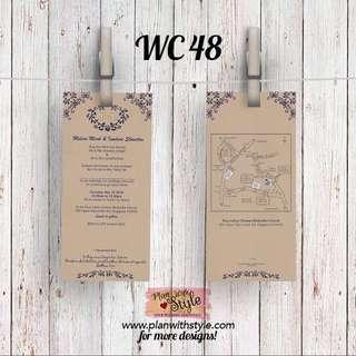 Wedding Card WC48
