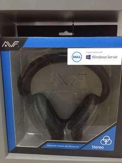 AVF Stereo Headset with Microphone