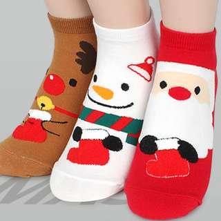 CHRISTMAS STOCKING ANKLE SOCKS