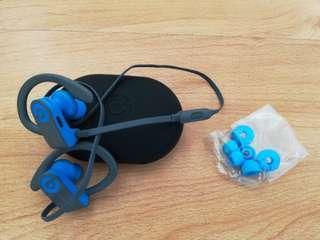 Beats by Dr Dre PowerBeats 3 Wireless Bluetooth Blue Sport Earphone