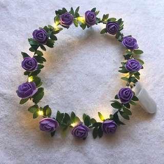 Light Up Flower Headband