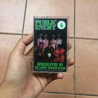 Public Enemy Cassette #TGV3