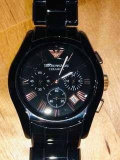 Armani watch 98% new