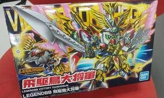 *連特典閃卡!BB戰士 Legend 飛驅鳥大將軍 Gundam Model高達模型
