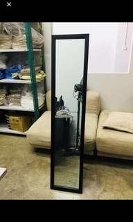 Standing Mirror - Frame Black Color