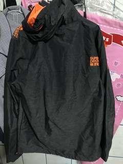 🚚 極度乾燥 Superdry 風衣外套 灰色 保暖 XL
