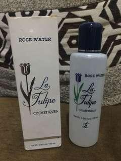 Rose water latulip