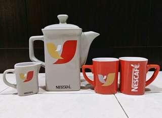 (BNIP)Nescafe ceramic mug set