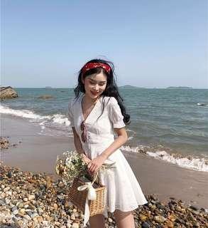 Gemma Eyelet Dress