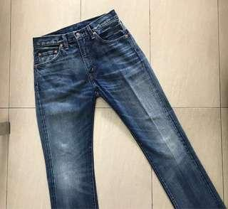 Authentic Levi's 505-0217