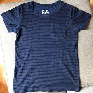 Cotton on dark blue shirt Size 6