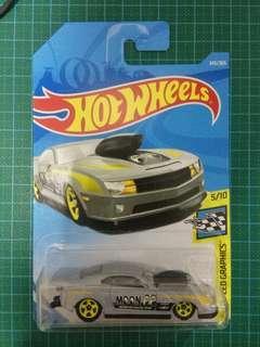 Hot Wheels pro stock Camaro moon eyes