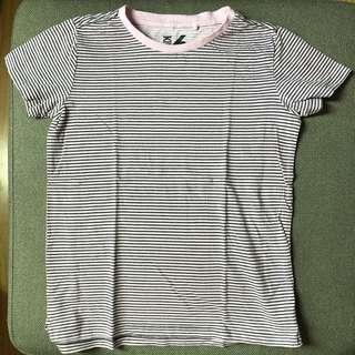 Cotton on light pink stripes shirt Size 6