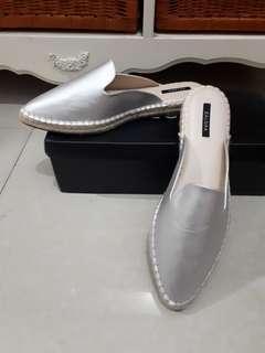 New! Zalora silvery sandals