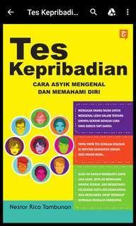 Buku test kepribadian