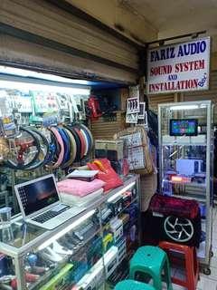 Kredit Audio mobil bunga 0% plaza atrium Senen Jakarta pusat