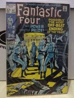 🚚 Fantastic Four Vol. 1 #87 - The Power and The Pride