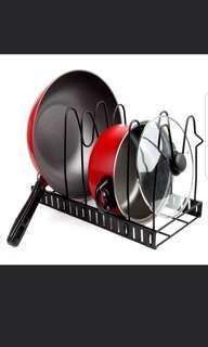 Pots and pan organiser rack