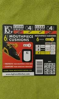 Mouthpiece cushions clear small 0.4mm
