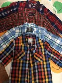 Bundle of branded long sleeves for kids