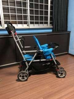 Joovy Caboose Ultralight Double Stroller