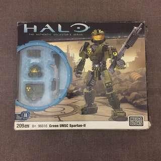 HALO Green UNSC Spartan-II