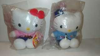 🚚 Hello kitty 成對 娃娃 布偶 麥當勞