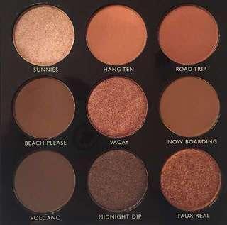 Morphe 9B Bronzed Babe Eyeshadow Pallete Authentic