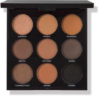 Morphe 9A Always Golden Eyeshadow Pallete Authentic