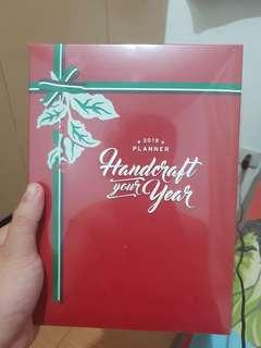 2019 Starbucks Planner without Card Cream Color