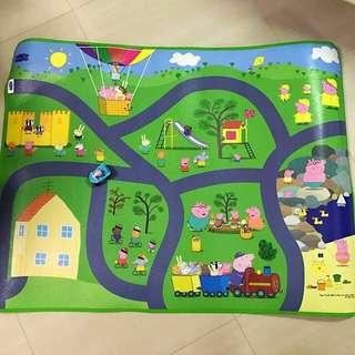 Peppa Pig Playmat with George Pig Car