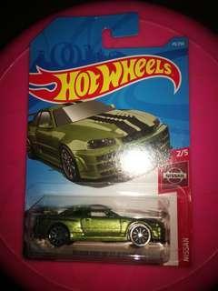 hot wheels  日產 GTR 34