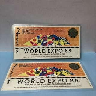 World Expo 88 Brisbane Expo Dollars