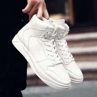 Men's Hip Hot Lace Up High Cut Sneakers Shoes