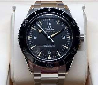 LNIB Omega Seamaster 300 Master Co-Axial 41MM - 233.30.41.21.01.001