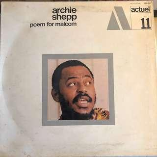 Archie Sheep -Poem For Malcom (1969) Spiritual Free Jazz French ORG LP Record Vinyl