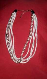 5 Layered Pearl Necklace