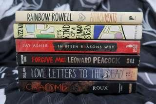 Pre-loved books for P350 each